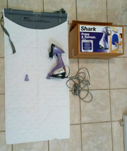 Shark press and refresh fabric steamer