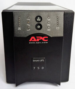 APC, SUA750 SMART-UPS, 500W Tower Power Backup UPS C14 Plugs