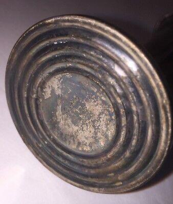 VINTAGE ART DECO GORHAM SILVER PLATE Candle Stick BUD VASE YC3054 Lots Of Patina