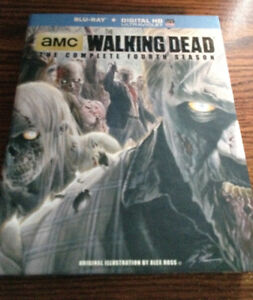 The Walking Dead season 4 blu-ray
