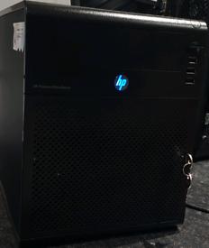 Server pc hp proliant micro server