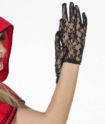 Handschuhe Fingerhandschuhe Kostüm Kleid Spitze Mittelalter Barock Rokoko - Spitze Kostüm Handschuhe