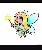 The cleaning fairy!! Years of experience. Excellent references.