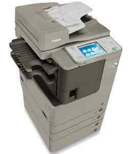 Canon ImageRUNNER ADVANCE Copier Printer fax Scanner Scan to email Copy machine Copiers Copy Machines Laser Printers