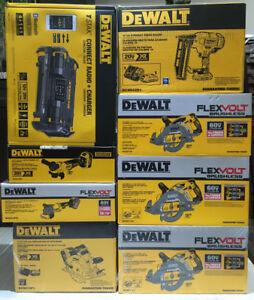 Brand new Dewalt 60v tools