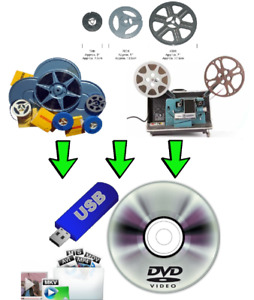 HOME MOVIES/FILMS/PICTURES TO DVD/USB/SD