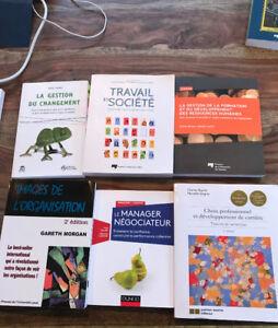 Livres scolaires à vendre ( ressources humaines )