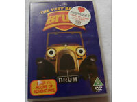 The very best of Brum children's DVD over 1.5 hours of Brum can send