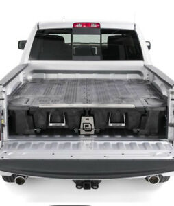 Decked truck storage box