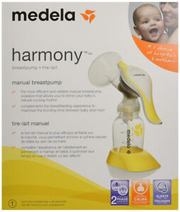 Medela Harmony Single Manual Breast Pump, Yellow
