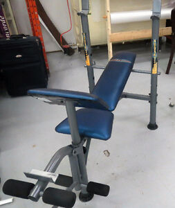 WEIGHT BENCH & MORE