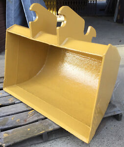 """48"""" EXCAVATOR BACKHOE CLEAN OUT BUCKET for DIGGING / MINING HEAV"""