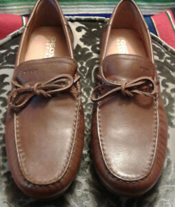 Brand NEW Leather Loafers size 43 43A , size 10 here?, for sale