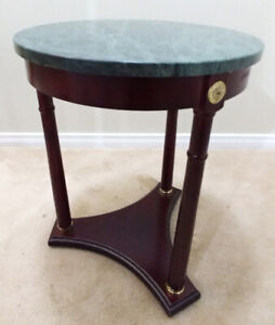 Accent Table with Granite Top