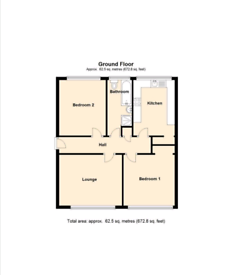 2 Large bed room flat