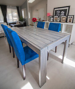 Modern Farmhouse Table (pick your stain color)