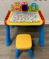VTech activity desk and all expansion packs