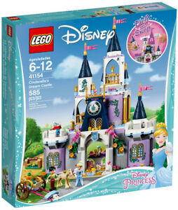 Lego Disney 41154 Cinderella's Dream Castle Neuf