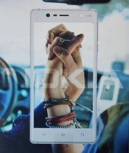 Nokia 3 Brand new Unlocked White/ Silver