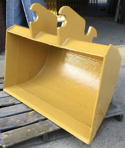 "48"" EXCAVATOR BACKHOE CLEAN OUT BUCKET for DIGGING / MINING HEAV"