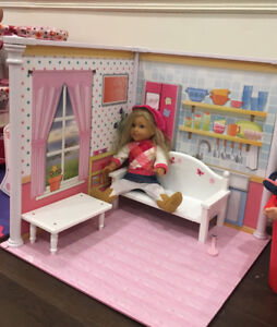 """PLAYROOM FOR 18"""" DOLLS BRAND NEW SEALED"""