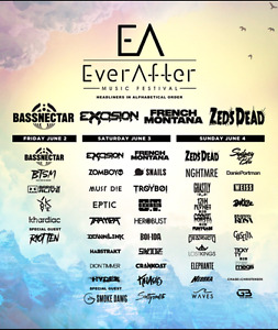 WEEKEND PASSES TO EVERAFTER MUSIC FESTIVAL