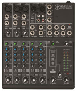 Mixeur Mackie 802VLZ4 8-Channel Ultra-Compact Mixer