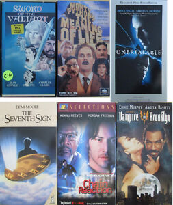 More Sci-Fi and Fantasy VHS Movies (13)