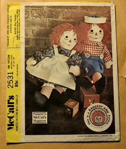 Sewing, Pattern, Raggedy Ann/Andy Doll, Summer Project