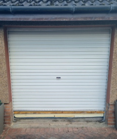 Electric Roller Fully Insulated PVC Coated Garage Door