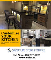 Luxury Custom Kitchen Cabinets - We Turn Your Dream to Reality