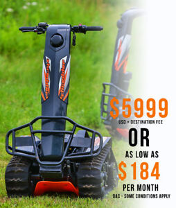 2018 DTV Shredder's now available in Canada with Financing