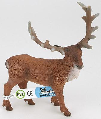Rothirsch, Hirsch Figur, 12,5 cm, Bullyland 64433 - NEU