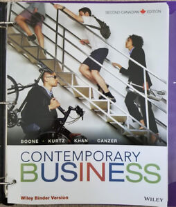 Contemporary Business (2nd Canadian Edition)
