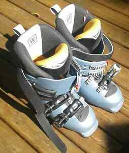 Ladies Ski Boots and Poles