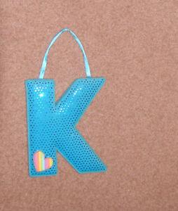 Letter K for girls room