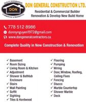 Don General Construction LTD.