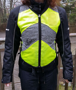 Women's Icon high visibility motorcycle vest