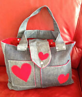 Laptop Bag - Homemade Recycled