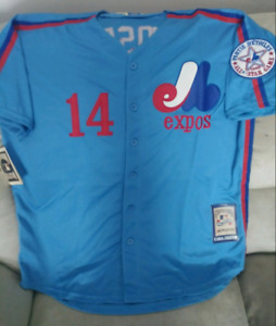 Montreal Expos Pete Rose Cooperstown Collection jersey