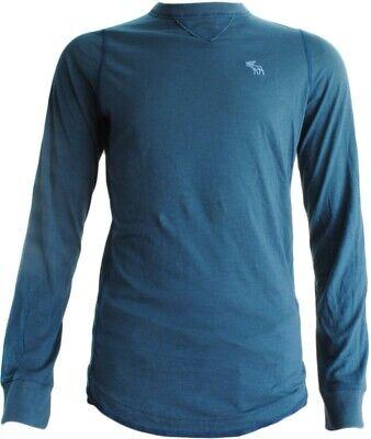 Abercrombie & Fitch Blue Sweatshirt (BNWT RRP £39.99 (Medium -- pid822))