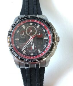 Montre Citizen Eco Drive Red Arrow Skyhawk A.T