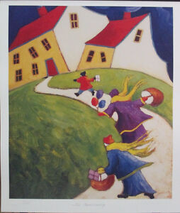 Wonderful Limited Edition Lithograph Print by Carol Ann Shelton!