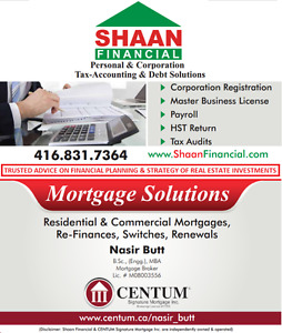 Mortgages, Income Tax & Debt Solutions