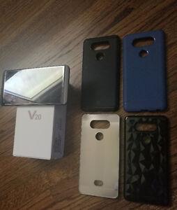 LG V20 - 64GB - UNLOCKED + 4 cases