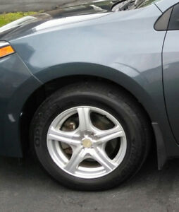 Four universal fit 15 inch rims