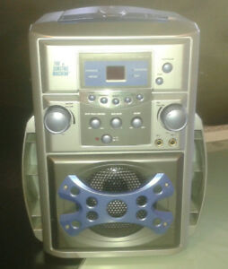 Karaoke Singing Machine SMG-137 CD+G Karaoke System