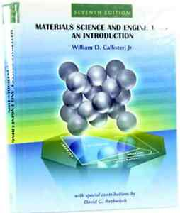 Materials Science and Engineering an Introduction (7th edition) Kingston Kingston Area image 1