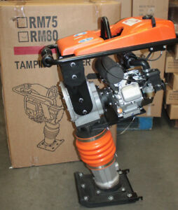 NEW LONCIN TAMPING RAMMER JUMPING JACK RM80