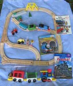 Thomas the Train  track set & Melissa/DOug Plastic Train